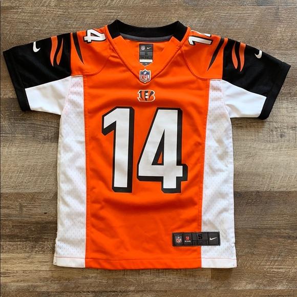 Bengals NFL jersey Kids size S Andy Dalton 14